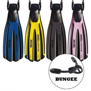 SeacSub Flossen Propulsion Mit Bungees Straps-0