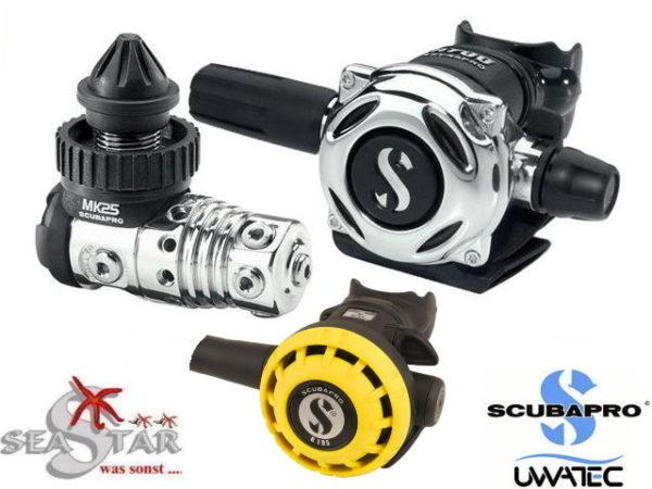 Scubapro MK25 EVO + A700 + R 195 Octopus -0