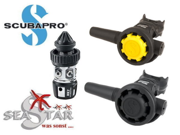 Scubapro MK2 EVO + R195 + R095 Oct.-0