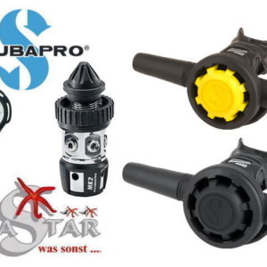 Scubapro MK2plus + R195 + R095 Oct. + Manometer Compact-0
