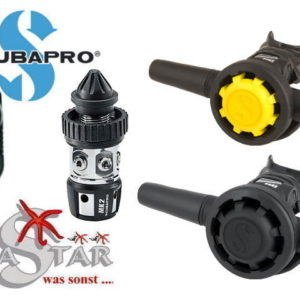 Scubapro MK2 EVO + R195 + R095 Oct. + Twin Konsole-0
