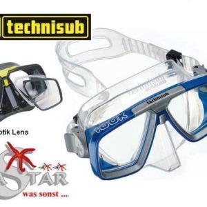 Technisub Maske Look inkl. opt. Gläser-0