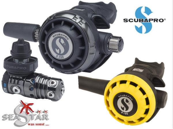 Scubapro MK25 EVO G260 Black Tech mit R195 Octopus-0