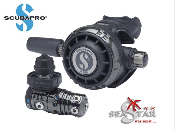 Scubapro MK25EVO G260 Black Tech-0