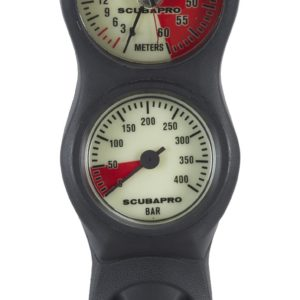 Scubapro Konsole 2 Analog Manometer/Tiefenmesser-0