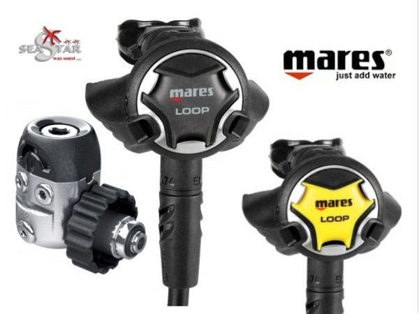 Mares Loop 15X mit Octopus Loop Set-1431