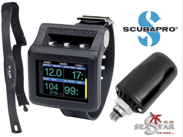 Scubapro G2 mit Sender und Brustgurt Online-Sonderpreis-0