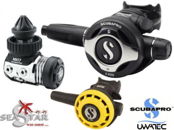 Scubapro MK17 EVO + S600 + R195 Oct.-0