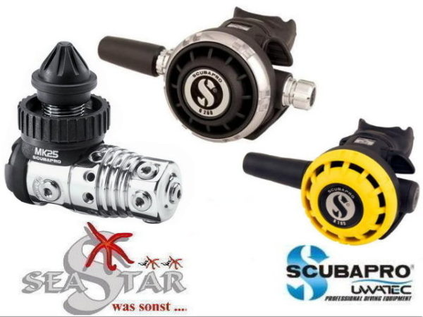 Scubapro MK25 EVO + G260 + R195 Octopus-0