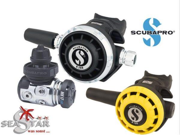 Scubapro MK17 EVO + G260 + R195 Oct.-0