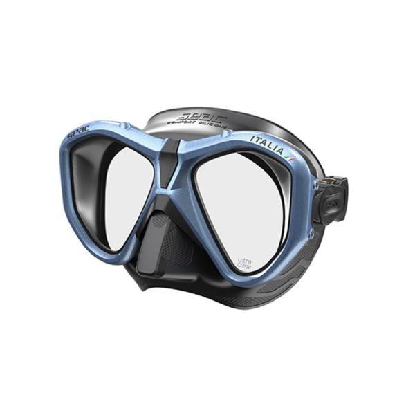 schwarz/metalic clear blau