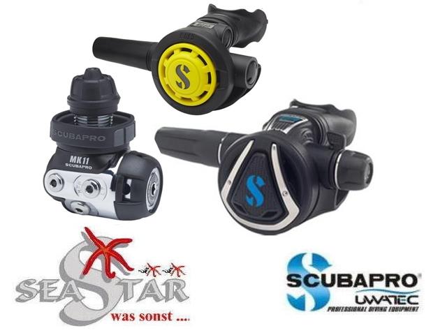 Scubapro MK11//C370 Atemregler mit R095 Octopus