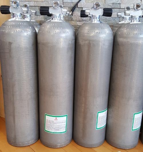 BTS Aluflasche 80CF silber Ventil ausbaufähig-0