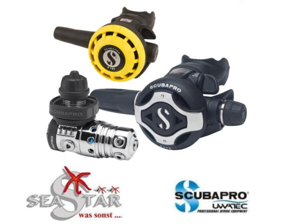 Scubapro MK25 EVO + S620 Ti + R195 Octopus-0