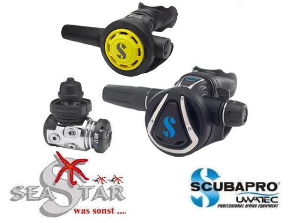 Scubapro MK17 EVO + C370 + R095 Octopus-0