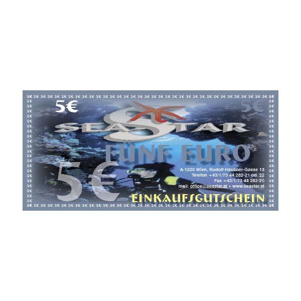 Gutschein € 5,--