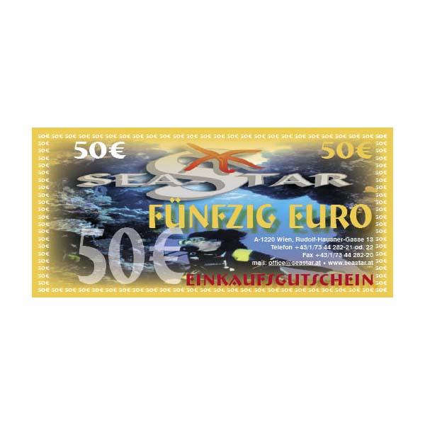 Gutschein € 50,--